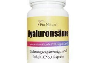 Pro Natural Hyaluronsäure Kapseln Test