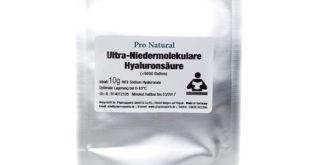 Pro Natural Hyaluronsäure Pulver Test